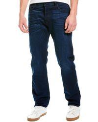 DIESEL Thytan Dark Wash Comfort Straight Leg - Blue