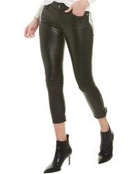RTA Smith Nightlife Skinny Leather Pant - Black