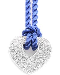 Poiray 18k 0.76 Ct. Tw. Diamond Toggle Necklace - Blue