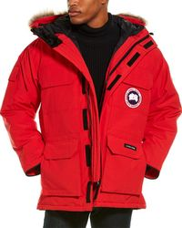 Canada Goose Expedition Fusion Parka - Red