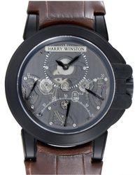 Harry Winston - Men's Ocean Triple Retrograde Chronograph Watch - Lyst
