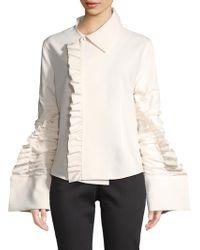 Jacquemus - Ruffled Jacket - Lyst