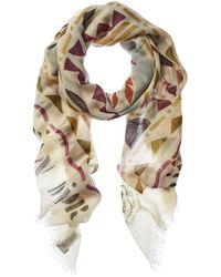 Dior Cashmere & Silk-blend Scarf - Multicolour