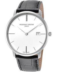 Frederique Constant - Slimline Watch - Lyst