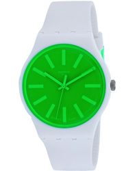 Swatch Classic Watch - Green
