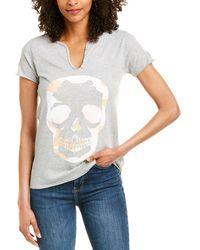 Zadig & Voltaire Tunisien Mc Camo T-shirt - Grey