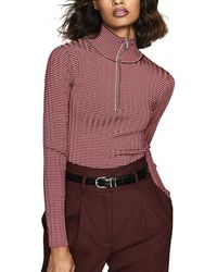 Reiss Finley Top - Red
