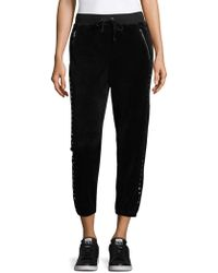 Juicy Couture - Silverlake Studded Capris - Lyst