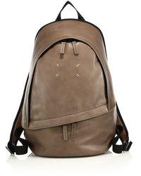 9c040846b28 Lyst - Maison Margiela Clean Leather Backpack for Men