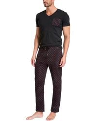Jared Lang Sleepwear Set - Black