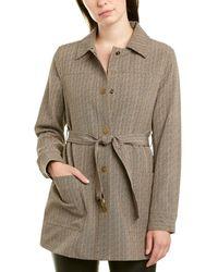 Jones New York Shirt Jacket - Natural