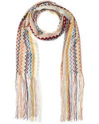 Missoni Wool-blend Scarf - White