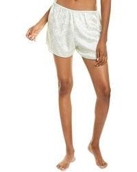 Morgan Lane Bea Silk-blend Short - White