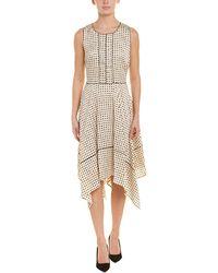 Donna Karan A-line Dress - Brown