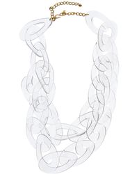 Kenneth Jay Lane Plated Resin Necklace - Multicolour