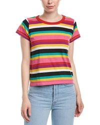 Pam & Gela Rainbow Stripe T-shirt - Multicolour