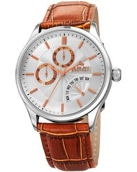 August Steiner - Multifunction Alloy Watch, 42mm Wide - Lyst