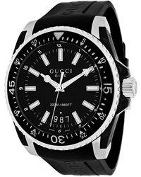 Gucci Men's Dive Xl Watch - Black