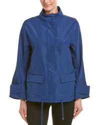 Lafayette 148 New York Drawstring Jacket - Blue