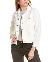 Lucky Brand The Tomboy Trucker Jacket - White