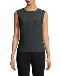Punto - Woven Shell Top - Lyst