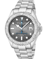 Stuhrling Original Men's Stainless Steel Watch - Metallic