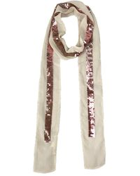 Michael Stars Hint Of Sparkle Scarf - Natural