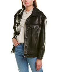 IRO Leather Jacket - Black