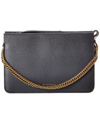 Givenchy Cross3 Leather & Suede Crossbody - Multicolour