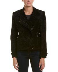 Nicole Miller Artelier Moto Jacket - Black