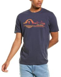 Red Jacket Arches National Park T-shirt - Blue