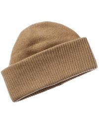 Portolano Cashmere Hat - Natural