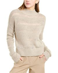 Brochu Walker Sidi Mohair & Alpaca-blend Sweater - Natural