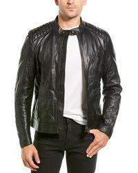 Belstaff Racer Leather Jacket - Black