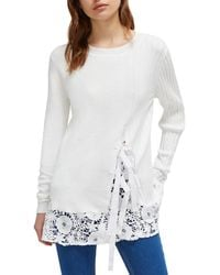 French Connection Trillium Knit Jumper - White