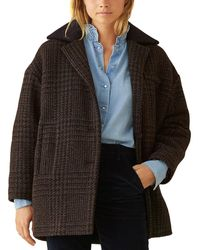 Ba&sh Told Wool-blend Coat - Black