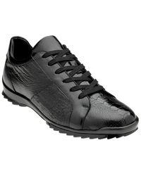 Belvedere Arena Leather Sneaker - Black