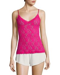 Hanky Panky Signature Lace Camisole - Pink