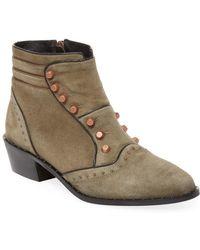 Ivy Kirzhner - Soldier Studded Ankle Boot - Lyst