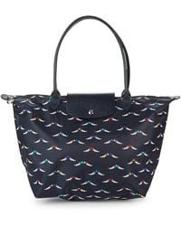 Longchamp - Le Pliage Chevaux Ailes Nylon Small Top Handle Bag - Lyst