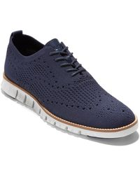 Cole Haan Zerogrand Oxford - Blue
