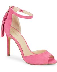Botkier Anna Tasselled High Heeled Sandals - Pink
