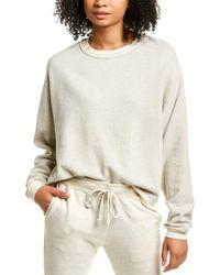 Project Social T Soko Thermal Trim Sweatshirt - White