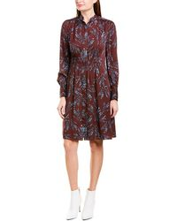 Equipment Ouesse A-line Dress - Red