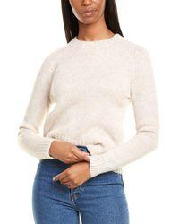 J.Crew Saddle Sleeve Wool & Alpaca-blend Sweater - Gray