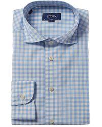 Eton Slim Fit Dress Shirt - Blue