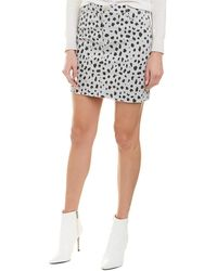 ATM Anthony Thomas Melillo Twill Mini Skirt - Gray