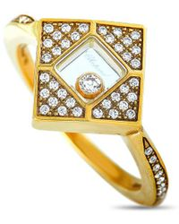 Chopard 18k 0.25 Ct. Tw. Diamond Ring - Metallic