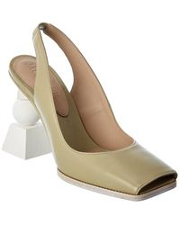 Jacquemus Les Chaussures Valerie Leather Mule - Green