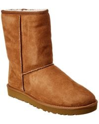 UGG Classic Short Suede Boot - Brown